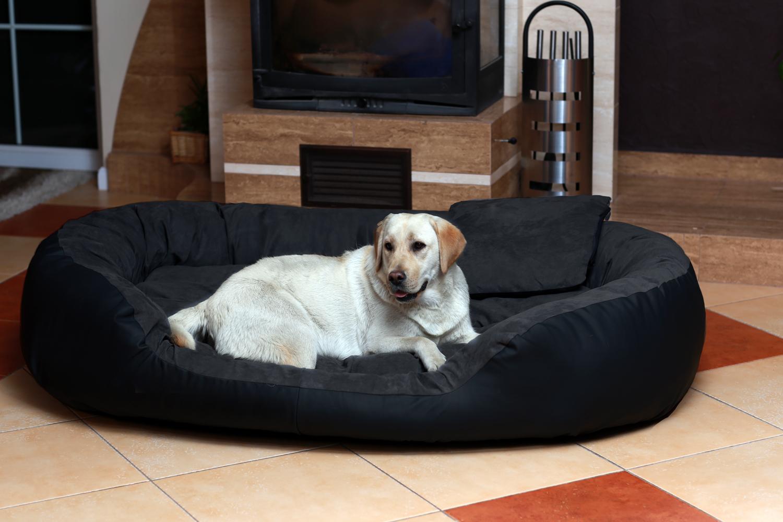 Tierlando lit pour chien philip vip similicuir velours 110 140 170cm xl xxl xxxl ebay - Lit pour chien xxl ...