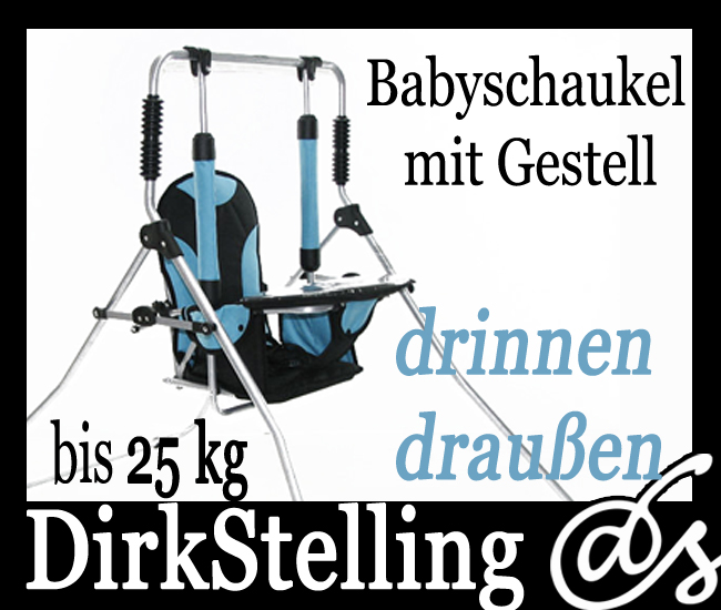 babyschaukel schaukel h ngeschaukel gestell bis 25 kg ebay. Black Bedroom Furniture Sets. Home Design Ideas